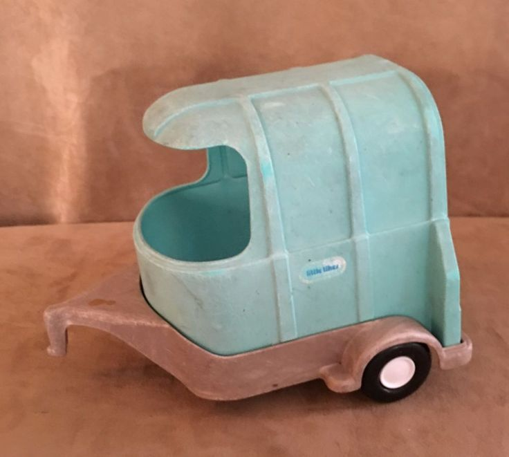 Little Tikes horse trailer dollhouse doll size replacement for jeep blue SUV #LittleTikes