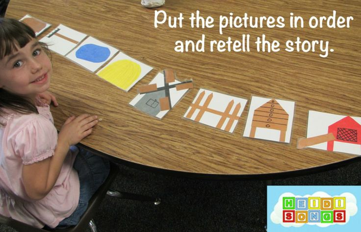 Click here to get the masters for these manipulatives that we used to practice retelling Rosie's Walk! $3.00