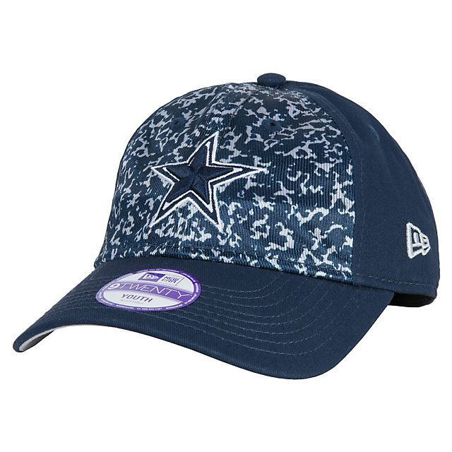 5299879389fc4 Dallas Cowboys New Era Youth Team Comp 9Twenty Cap