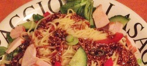 Vastendieet Recepten van Su zijn altijd bijzonder en verassend lekker! Deze keer een Vastendieet recept Aziatische noedelsalade met gerookte kip. http://vastendieetrecepten.nl/recepten/aziatische-noedel-salade-gerookte-kip