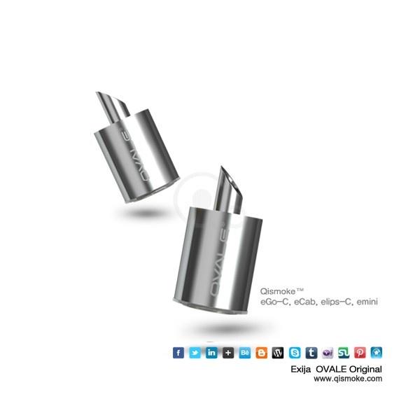 Atomizadores substituíveis eGo-C   5 Atomizadores substituíveis  atomizadores eGoC que duram mais