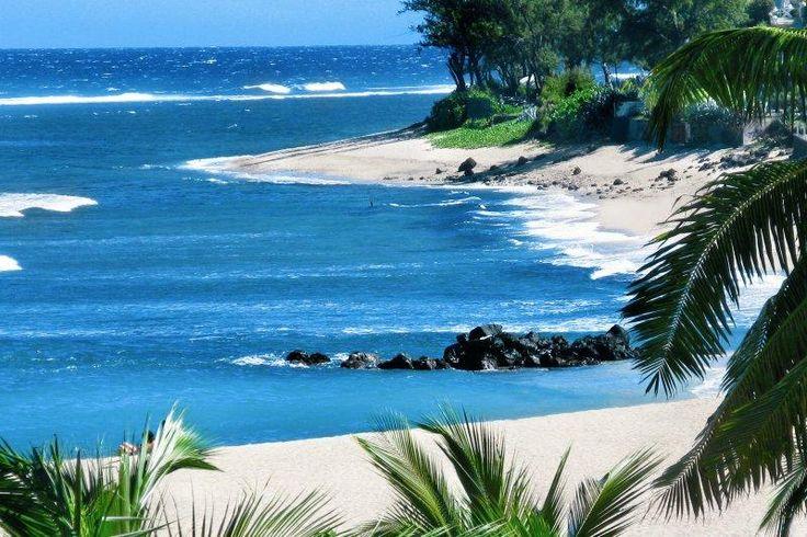 Plage de l'île de La Réunion