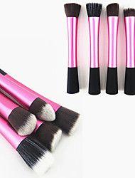 1PCS Rose Nylon Hair Aluminium Handle Makeup Blus... – USD $ 2.99