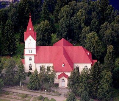 Church Ylivieska, Northern Ostrobothnia province of Finland - Pohjois-Pohjanmaa - kuva: Arto Vähäkangas