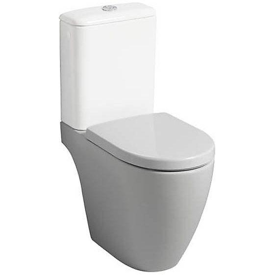 Keramag iCon Stand-WC-Kombination Tiefspüler 200460000 - MEGABAD