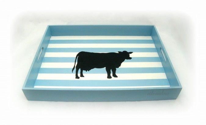 """Wood Tray """"COW"""" design by arte.andina Bandeja de madera, con diseño """"VACA"""", para los amantes del asado! #lindodiaparahacerunasado"""