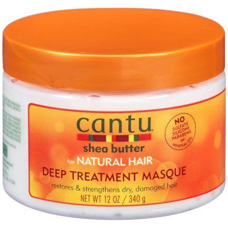 Cantu Shea Butter for Natural Hair Deep Treatment Masque 12 oz. Jar