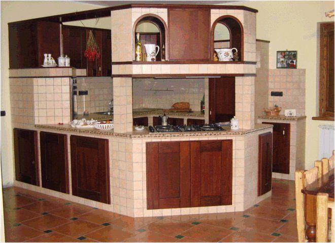 17 migliori idee su cucine rustiche su pinterest mobili rustici da cucina case rustiche e - Progetti cucine in muratura rustiche ...