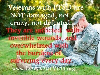 PTSD awareness...One of the reasons I want to be a social worker/trauma psychologist
