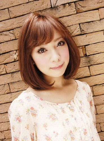2013 Short Japanese Hairstyle for girls