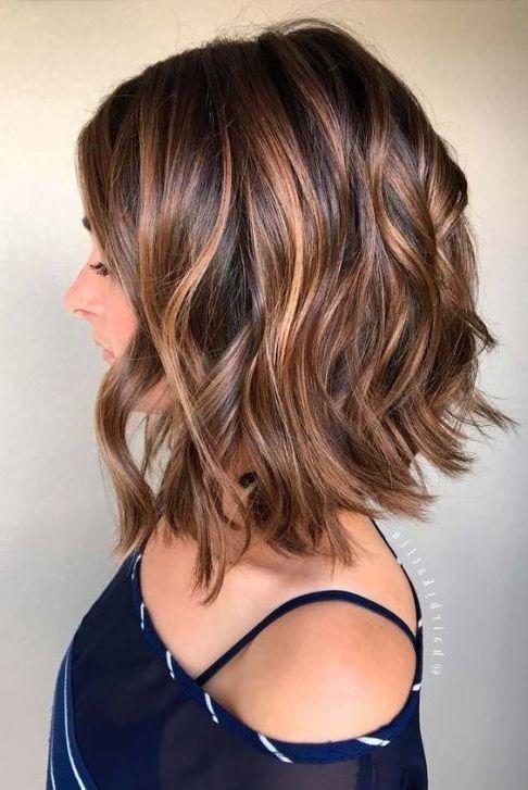 50 Medium Bob Hairstyles for Women Over 40 in 2019 | Hair color balayage, Hair lengths, Medium ...