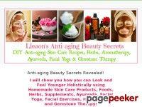 Anti-aging Beauty Secrets Revealed! - Leon's Anti-aging Beauty Secrets