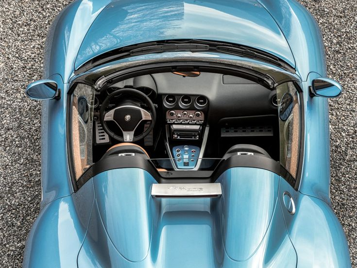 Alfa Romeo Disco Volante Spider is the latest work from Italian design house Carrozzeria Touring Superleggera, which is celebrating its 90th anniversary.
