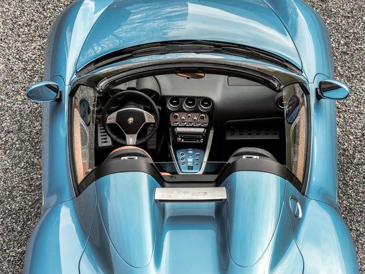 Alfa Romeo Disco Volante Spider is the latest work from Italian design house Carrozzeria Touring Superleggera, which is celebrating its 90th anniversary.