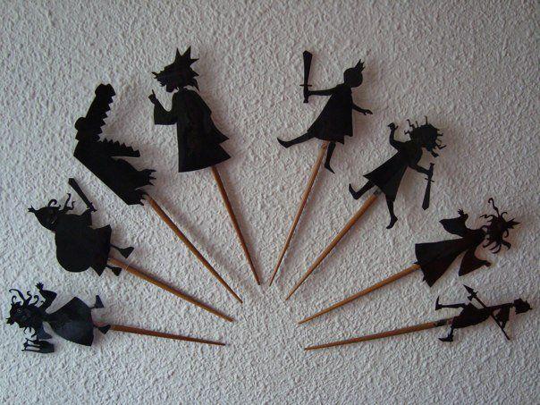 Títeres para teatro de sombras