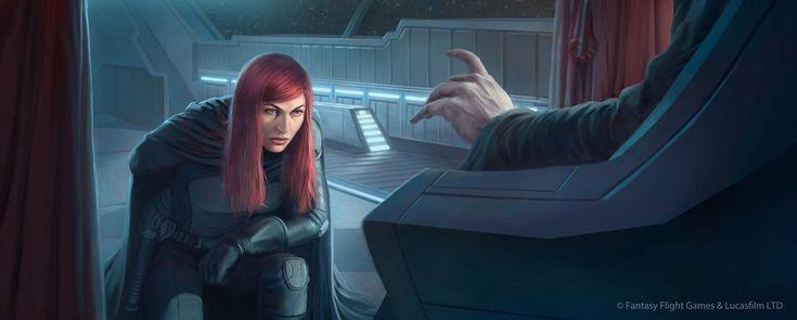 Star Wars: TCG - Mara Jade, The Emperor's Hand by Anthony Foti
