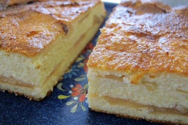 Käse-Apfel-Kuchen ohne Boden -lowcarb/primal- Rezept | fettich.de