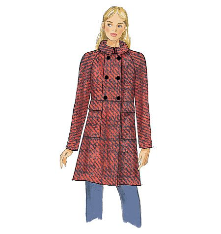 108 best Coats, Capes, Ponchos & Outerwear Patterns images on ...
