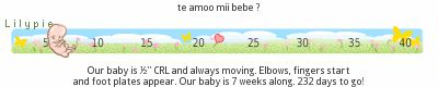 Embarazo de 9 semanas , enamorada de mi bebe y super feliz