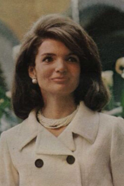 "Jackie, always having regal bearing,  The American people have always had a ""love-affair"" with her, until the day she died."