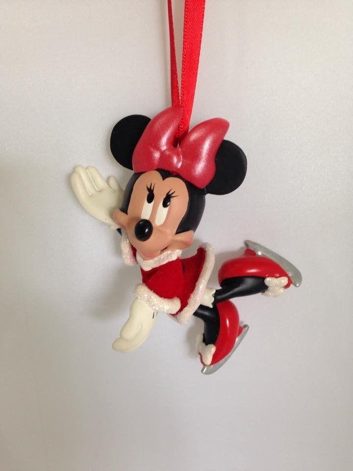 Ormanento De Natal Minnie Disney Store - R$ 95,00 no MercadoLivre