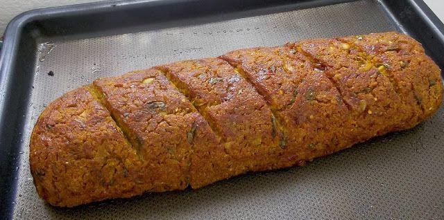 Na Casa da Ma: Assado vegan de trigo, azeitonas verdes e abóbora ...