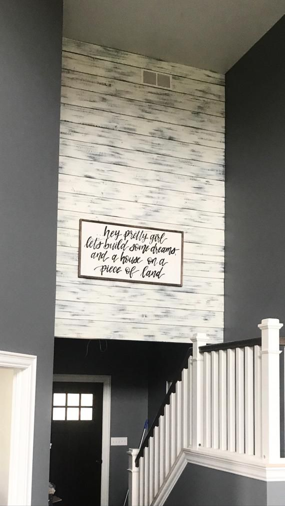 Farmhouse Shiplap Reinvent Your Space With Our Wide Plank Shiplap Interior Siding Our Distressed Whit Shiplap Feature Wall Ship Lap Walls Shiplap Accent Wall