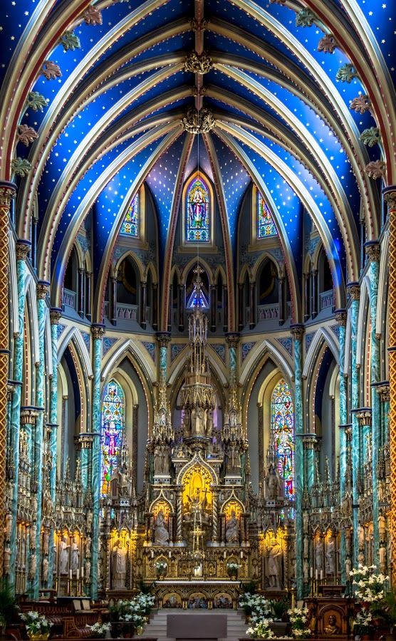 Easter Weekend by Guy Théroux - Buildings & Architecture Places of Worship ( notre-dame, ottawa, cathedral, architecture, basilica, worship )