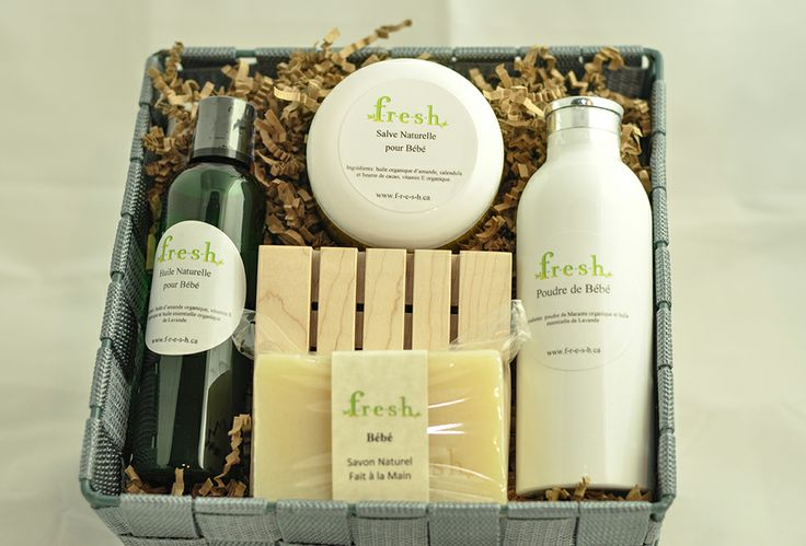 Baby Organic Basket Products