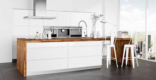71 beste afbeeldingen over keuken op pinterest wijnrekken keuken interieur en lampen - Witte en grijze keuken ...