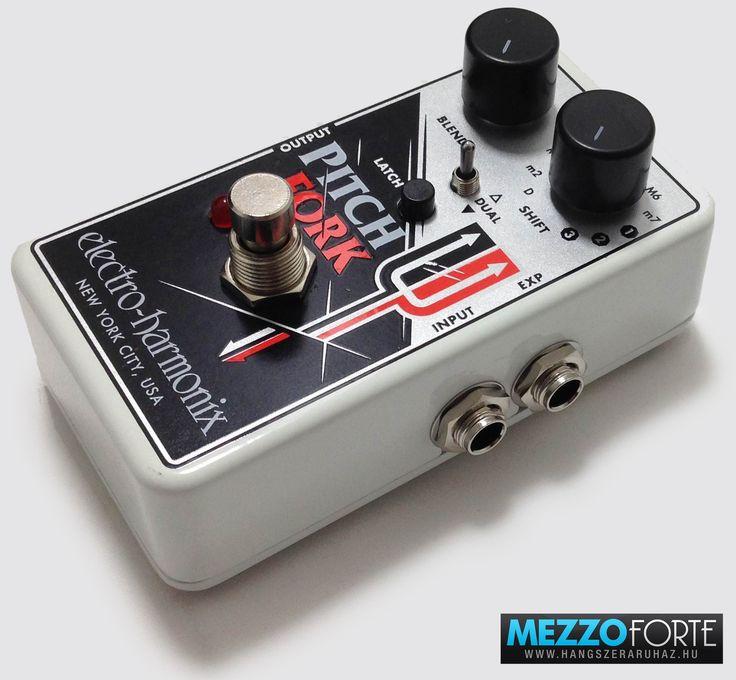 Electro-Harmonix Pitch Fork Polyphonic Pitch Shifter gitárpedál