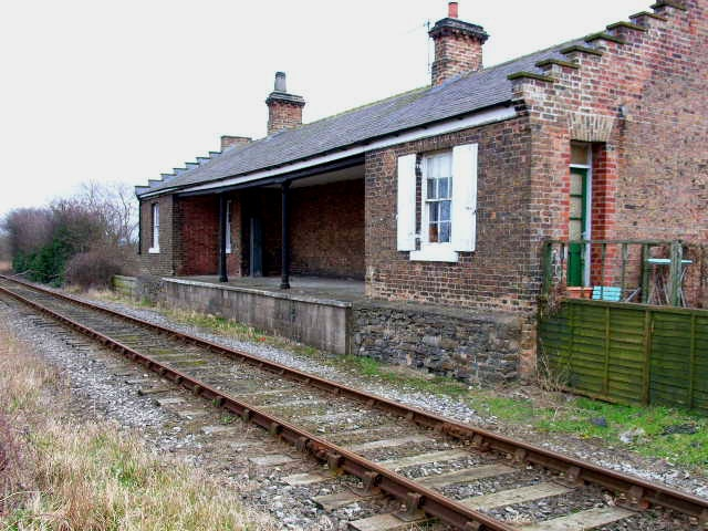 Crakehall station, North Yorkshire.  Photo by Oliver Dixon.