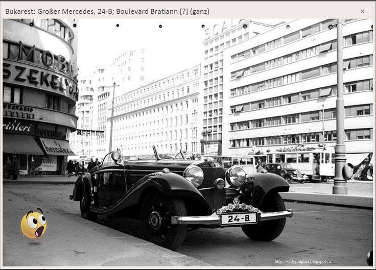 Octombrie 1939 — in Bukarest, Rumänien.