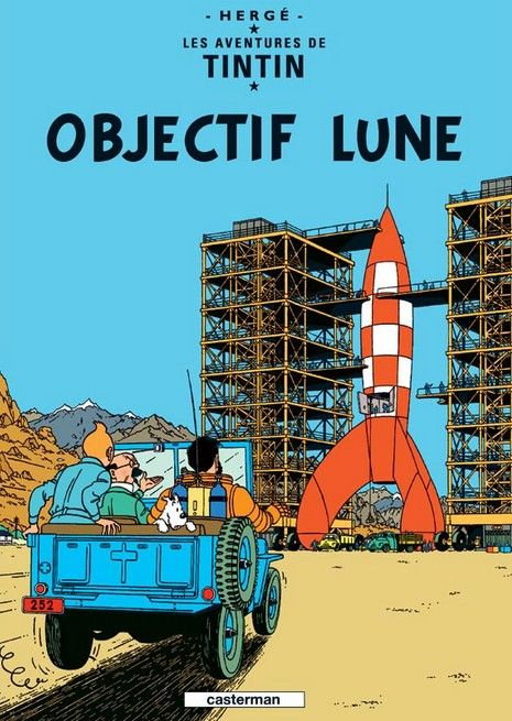 Cannot decide which one to add to our Tintin poster collection: Objectif Lune OR On a march sur la Lune ??