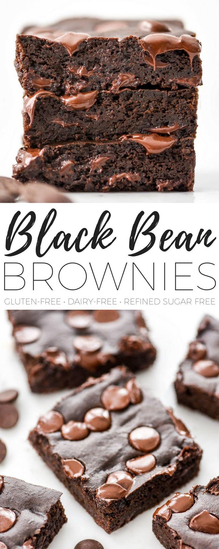 Black Bean Brownies (& Video) - Joyfoodsunshine