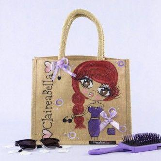 ClaireaBella Medium Jute Bag