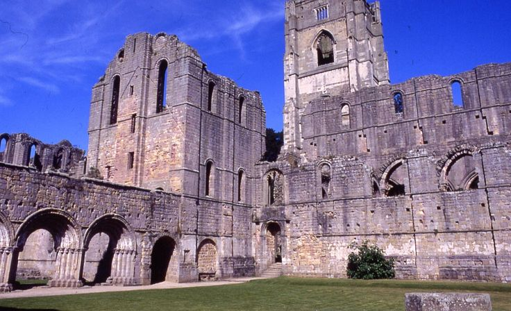 Fountains Abbey, set in 700 acres of park and water garden