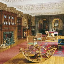 Holker Hall is the home of the Cavendish family. The Gallery