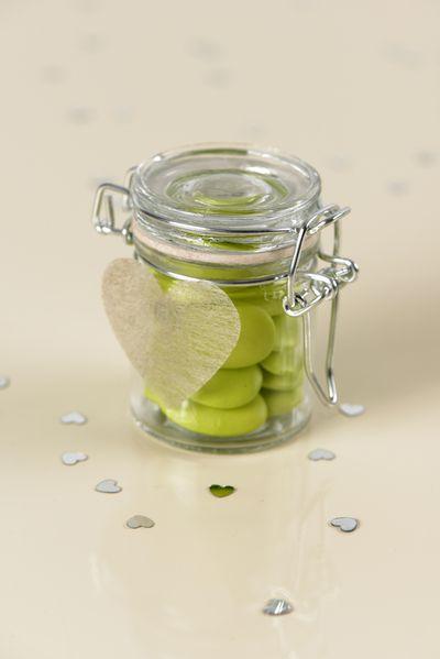 Mini jar - klein weckpotje. www.gvgpapersolutions.nl