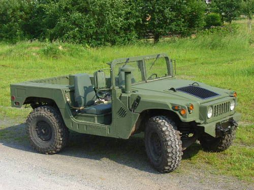 Used Cars For Sale Germany Military: Hummer H1 HMMWV Bobbed Style