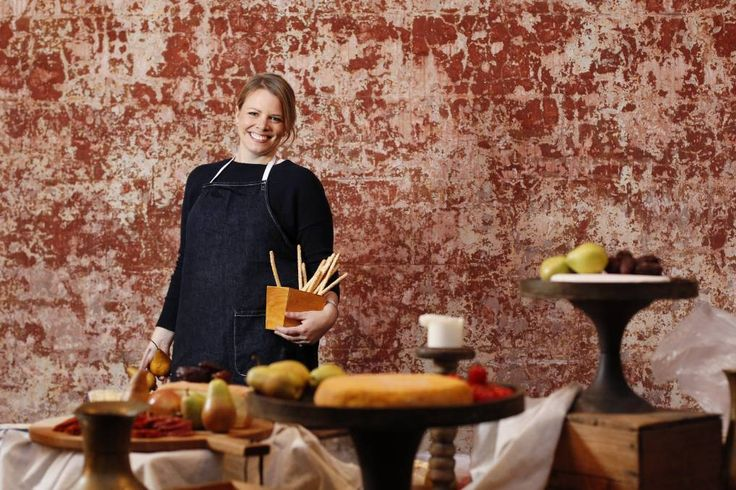 Lucy Novak at the launch of her new catering business, The Wild Rabbit, which she brought from Sydney. Picture: Max Mason-Hubers
