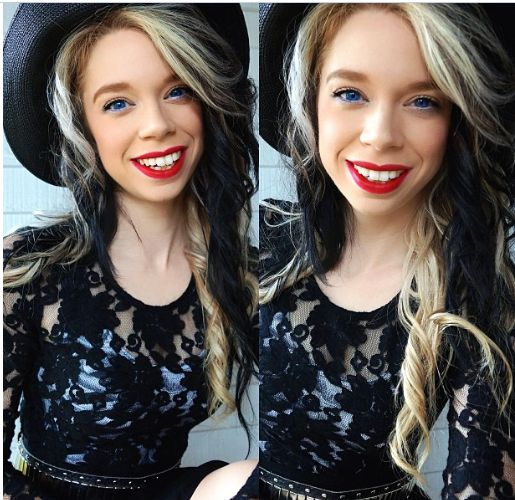 """I'd have to say she is probably one of my favourite youtubers! She's so open and honest about who she is and what she likes. And as she says herself """" I do my make up to make me happy, not others """" ♥ ♥ ♥"""