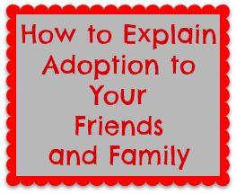 How to Explain adoption