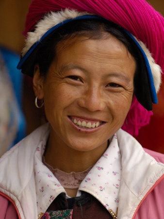 Tibetan Minority at Horse Racing Festival, Zhongdian, Deqin Tibetan Autonomous Prefecture, China Fotografik Baskı