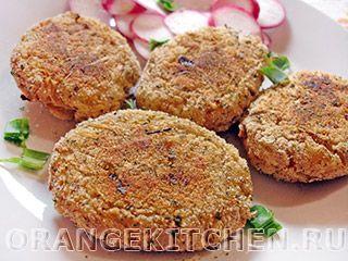 Вегетарианский рецепт постных картофельных котлет