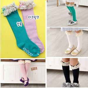 185 altura de la rodilla del algodón de los niños calcetines bebé media bebé laciness todos Combinar princesa calcetines-Insocks de Ropa y accesorios en Aliexpress.com