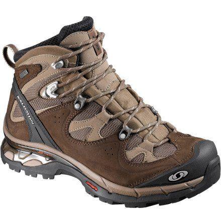 """Жіночі трекінгові черевики Salomon Comet 3D GTX. Легкі чудові черевики для 1-2 денних походів. Технологія GORE-TEX Footwear 3D шасі Захист пальців та п""""ятки Підошва Contagrip Розмір 37 1/3"""