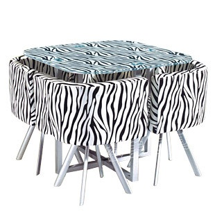 148 Zebra Table Set I Really Want It Things To Do To My House Pint