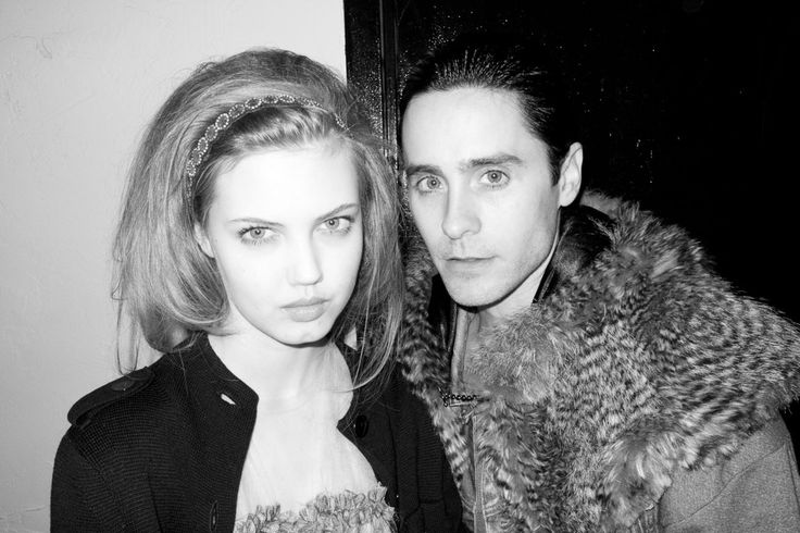 lindsey wixson and jared leto