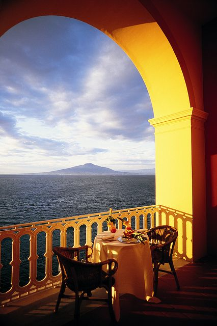 Grand Hotel Excelsior Vittoria in Sorrento ... Looking forward to being here on Saturday! :)